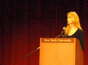 Ann Coulter's appearance at NYU