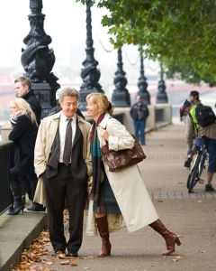 Emma Thompson and Dustin Hoffman in Last Chance Harvey